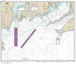 13218 Marthas Vineyard To Block Island Nautical Chart