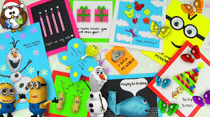 DIY Gifts! 10 Easy DIY Card Ideas (DIY Cards with Christmas Gifts ...