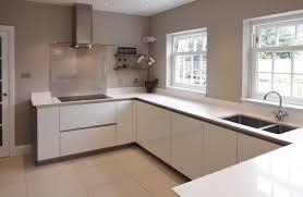 White Gloss Kitchen Worktop Kitchens