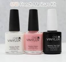 image is loading cnd vinylux weekly polish american french manicure kit