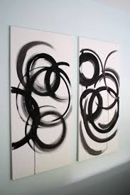 looking for some diy modern art ideas to fill your walls these projects are a