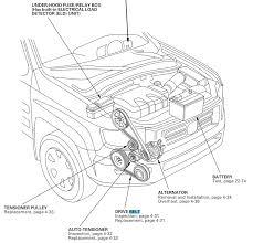 similiar 2006 honda odyssey belt diagram keywords 2006 honda odyssey serpentine belt diagram on 2006 honda pilot