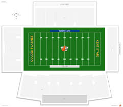 Ball State Football Stadium Seating Chart Dix Stadium Kent State Seating Guide Rateyourseats Com