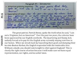 revolutionary war essay paragraph 5 19