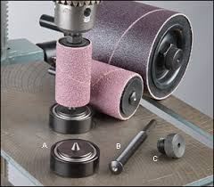 drum sander for drill. veritas® drum-sander support system drum sander for drill