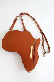 small tan leather bag