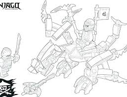 Lego Ninjago Cole Coloring Pages Kai Zx Colouring Us Thumb