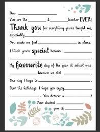 Dear Teacher Letter Be A Fun Mum