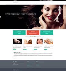 Hair Saloon Websites Hair Salon Website In 15 Minutes Izmoweb Com