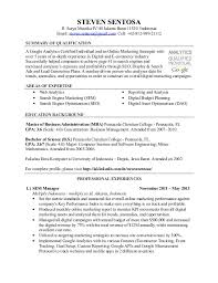 Ppc Resume Sample Magdalene Project Org