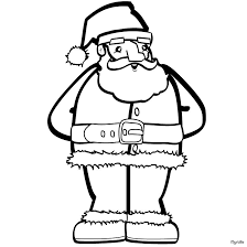 Small Picture Santa near the christmas tree coloring pages Hellokidscom