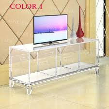 acrylic tv stand. Unique Acrylic Acrylic TV Stand TableLuite Cabinet With Removable TraysPerspex Living  Room Side Wall In Tv R