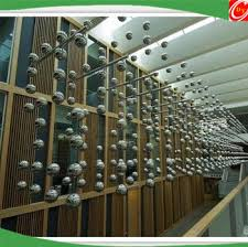 Stainless Steel Decorative Balls Stainless Steel Ceiling BallHanging Metal Ball For Shopping Mall 35