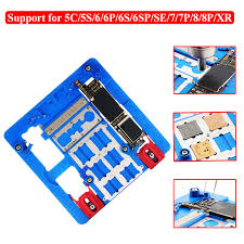 <b>Motherboard PCB Holder Jig</b> Fixture Work Station for iPhone XR 8 7 ...