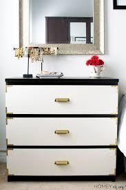 diy ikea hack dresser. IKEA Malm Turned Campaign Style Dresser Diy Ikea Hack