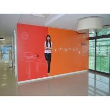 office wall. Office Wall And Glass Board