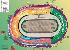 Indy 500 Seating Chart Tower Terrace Bristol Motor Speedway Seating Chart Weve Got Great