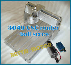 uk us delivery 3040 cnc router milling machine mechanical kit ball with sd regulator 300w