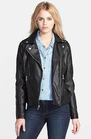 faux leather jacket guess shrunken faux leather moto jacket nordstrom jgyvrtb