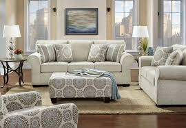 affordable furniture sofa and loveseat charisma linen with brionne twilight accent pillows