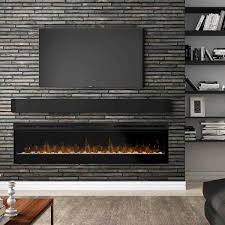 74 prism series wall mount linear electric fireplace