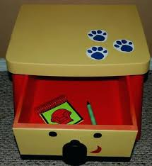 side table drawer blues clues. Side Table With Drawer Blues Clues By D