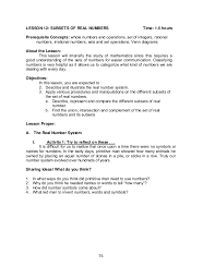 Rational Numbers Venn Diagram Worksheet Grade 7 Learning Module In Math