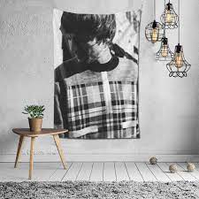 Amazon.com: Louis Tomlinson Tapestry Wall Hanging Dorm Decor for Living  Room Bedroom 60 X 40 Inch Black: Home & Kitchen