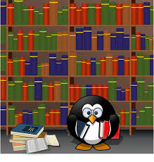 Image result for library cartoon