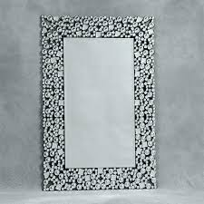 Mosaic Wall Mirror Lulu Decor Mosaic Mirror Frameless