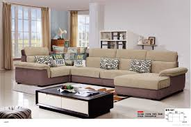 modern fabric sofa set. Exellent Fabric Modern Living Room Fabric Sofa U Shape Sectional Antibacterial  Comfortable Soft Set Online  Inside