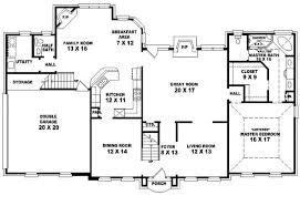 bedroom bath floor plans house plans 4 bedroom 3 bath homes floor plans