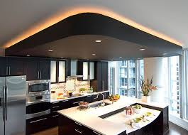 drop ceiling with recessed lighting