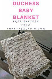 Free Crochet Baby Blanket Patterns Fascinating Duchess Baby Blanket Free Crochet Pattern Amanda Saladin