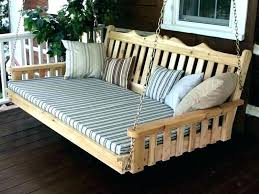 how to build a swing bed daybed ns swing beds pallet porch bed hanging storage with how to build a swing bed