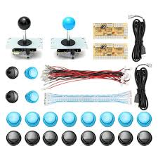 diy arcade joystick kit parts usb encoder controller pc joystick with 20 push on cable for arcade game console
