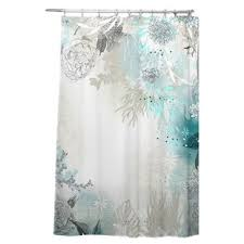 Cool shower curtains for kids Elephant Holley Seafoam Single Shower Curtain Youandkids Modern Kids Shower Curtains Allmodern