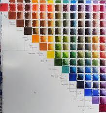 M Graham Color Chart My Own M Graham Mixing Chart Wetcanvas