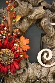 Fall Wreath The Easiest Fall Burlap Wreath Tutorial Duke Manor Farm
