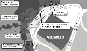 Level 4:key information about the city of melbourne. Melbourne Airport Tullamarine Pick Up Instructions