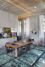 lab lz by gt features mind blowing broken mirrored glass floors home design lover