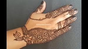 New Arabic Full Hand Mehndi Design For All Festivels Youtube