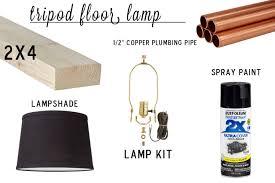 knocktoberfest tripod floor lamp