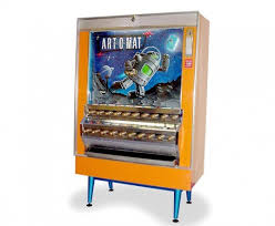 Old School Cigarette Vending Machine Impressive ArtOMat Vintage Cigarette Vending Machines Recycled To Dispense