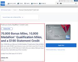 Compare 2021s best credit cards. American Express Platinum Delta Skymiles Credit Card Referral Sign Up Bonus Travel With Grant