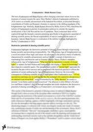 frankenstein essay mod a year hsc english advanced module a frankenstein bladerunner essay