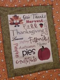 Quilt Inspiration: Free pattern day ! Thanksgiving & Below, Row 1: Thanksgiving turkey placemats by CC Page at Little Page  Turners. Row 2: Raw edge 'hand turkey' applique placemats by Nancy Geaney  at Dark ... Adamdwight.com