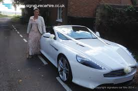 car hire aston martin