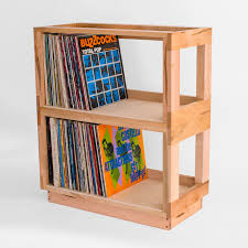Bored of IKEA 12 alternative ways to store your records The