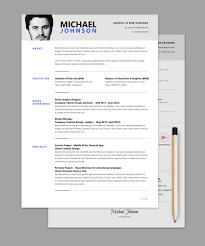 Microsoft Resume Templates 2016 Photoshop Resume Template RESUMEDOC 30